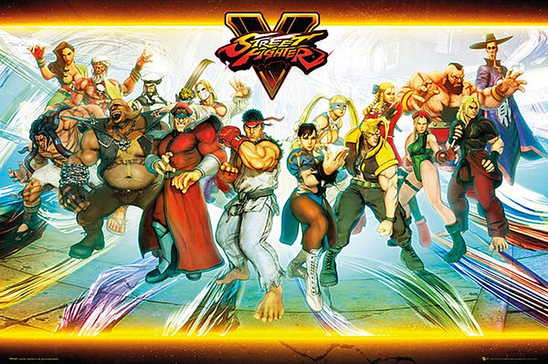 Street Fighter V - Characters - Poster
