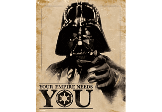 Darth Vader - Your Empire Needs - Poster