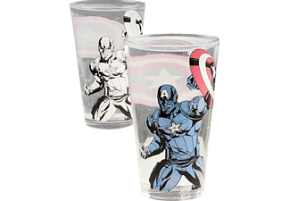 Captain America Colour change Glass