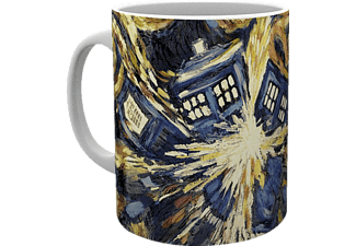 Doctor Who Tasse Exploding