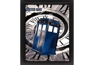 Doctor Who 3D Poster Tardis Zeitspirale