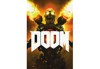 Doom 4 Poster Key Art Collector's Edition Cover