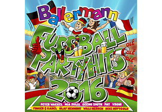 VARIOUS - Ballermann Fußball Party Hits 2016 - (CD)