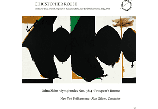 Alan Gilbert, New York Philharmonic - Odna Zhizn/Sinfonien 3+4/Prospero's Rooms - (CD)