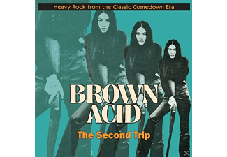 VARIOUS - Brown Acid: The Second Trip - (Vinyl)