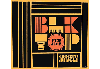 BLKTOP Project(Guerrero,Tommy/Barbee,Ray - Concrete Jungle (LP+MP3) - (LP + Download)