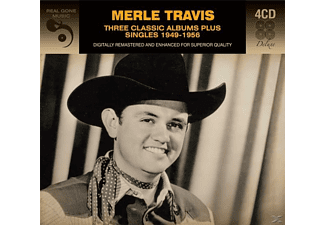Merle Travis - 3 Classic Albums Plus - (CD)