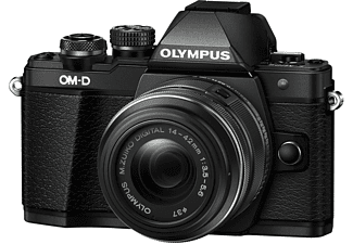 OLYMPUS OM-D E-M10 Mark II 14-42mm II R Kit Zwart