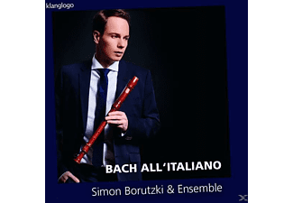 Simon Borutzki - All' Italiano - (CD)