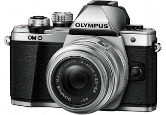 OLYMPUS OM-D E-M10 Mark II 14-42mm II R Kit Zilver