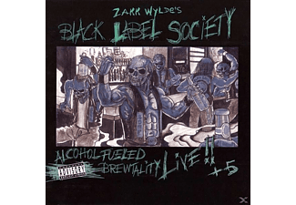 Black Label Society - Alcohol Fueled Brewtality-Live!! - (Vinyl)