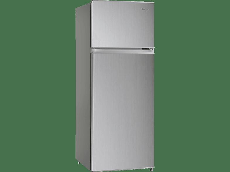 INVENTOR INVMS207A2G Ασημί οικιακές συσκευές ψυγεία ψυγεία δίπορτα οικιακές συσκευές   offline ψυγεία ψυγεί