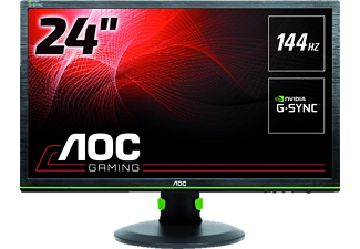 AOC G2460PG 24 Zoll Full-HD Gaming-Monitor (2x USB 2.0, 2x USB 3.0, 1x DisplayPort Kanäle, 1 ms Reaktionszeit)