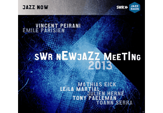 Vincent Peirani, Emile Parisien, Leila Martial, Julien Herné, Tony Paeleman, Yoann Serra, Mathias Eick - SWR NewJazz Meeting 2013 - (CD)