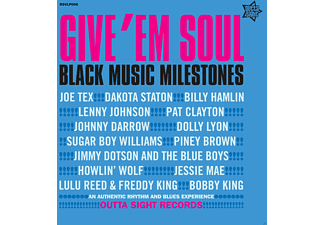 VARIOUS - Give 'Em Soul Vol.3-Blue Edition - (Vinyl)