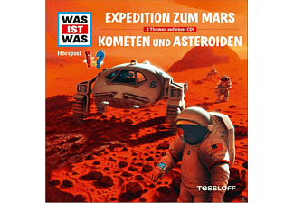 Was Ist Was - Folge 58: Expedition Z.Mars/Kometen & Asteroiden - (CD)