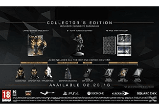 Deus Ex: Mankind Divided Collector's Edition Xbox One