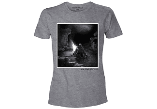 Dark Souls T-Shirt -L- The Bonfire, Grau