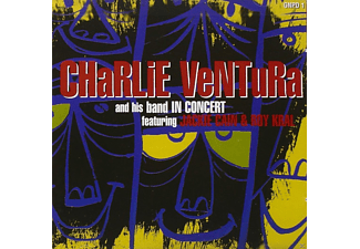 Charlie Ventura, His Band, Jackie Cain, VARIOUS - In Concert - (CD)