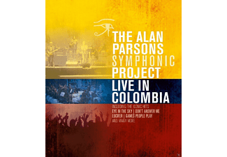 The Alan Parsons Symphonic Project - Live In Colombia - (Blu-ray)