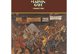 Marvin Gaye - I Want You (Back To Black LP) [Vinyl]