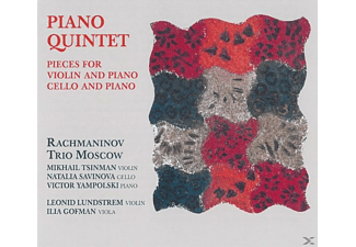 The Moscow Rachmaninov Trio - Klavierquintett/+ [CD]