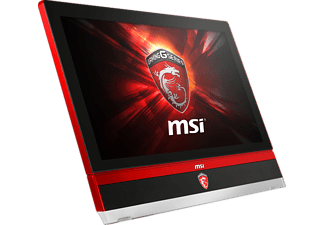 MSI 27 6QE-R7670016G2T0DS10MHANXH, Gaming AIO PC mit Core i7 Prozessor, 16 GB RAM, 2 TB HDD, 128 GB SSD, NVIDIA GeForce GTX 980M
