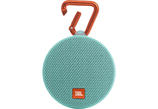 JBL Clip 2 Waterproof - Turkos