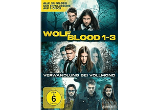 Wolfblood - Verwandlung bei Vollmond 1-3. Staffel - (DVD)