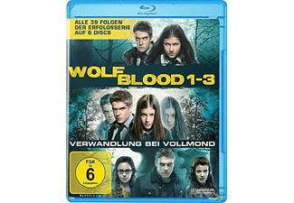 Wolfblood - Verwandlung bei Vollmond 1-3. Staffel - (Blu-ray)