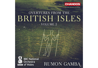 Rumon Gamba, Bbc National Orchestra Of Wales - Overtures from the British Isles Vol.2 - (CD)