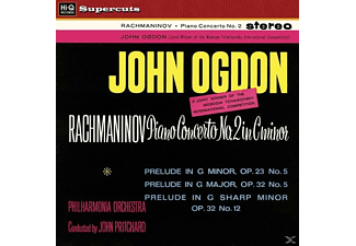 John Ogdon, The Philharmonia Orchestra - Rachmaninov/Klavierkonzert 2 In c minor (180g) - (Vinyl)