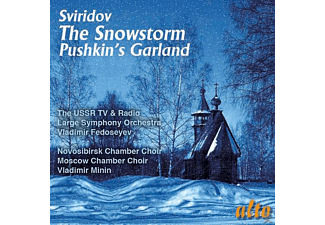 Vladimir Fedoseyev, Moscow Chamber Choir, Novosibirsk State Philharmonic Chamber Choir, Vladimir Minin, The Ussr Tv And Radio Large Symphony Orchestra - The Snowstorm/Pushkin's Garland - (CD)