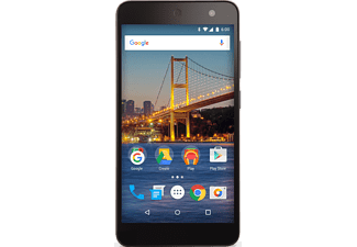 GENERALMOBILE Android One 4G Dual-sim 16 GB Zwart