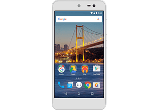 GENERALMOBILE Android One 4G Dual-sim 16 GB Wit