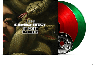 Combichrist - This Is Where Death Begins (2LP+CD) - (LP + Bonus-CD)