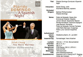 Domingo/BP/Chang/+ - A Spanish Night - (DVD)