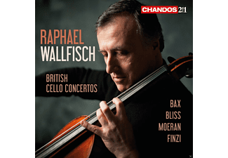 Raphael Wallfisch, Royal Liverpool Philharmonic Orchestra, Ulster Orchestra, The London Philharmonic Orchestra - British Cello Concertos - (CD)