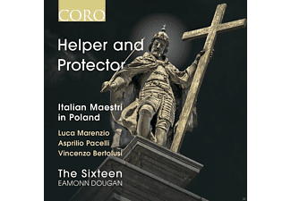 The Sixteen - Helper and Protector-Italian Maestri in Poland - (CD)