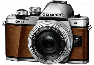 OLYMPUS OM-D E-M10 Mark II Limited Edition + 14-42mm Bruin