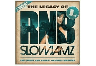 VARIOUS - The Legacy of Rn'B Slow Jamz - (CD)