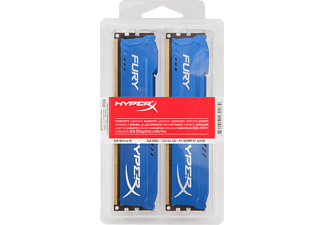 KINGSTON HyperX Fury DDR3 1600MHz 8GB Blauw (2x4GB)