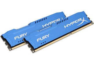 KINGSTON HyperX Fury DDR3 1600MHz 16GB Blauw (2x8GB)