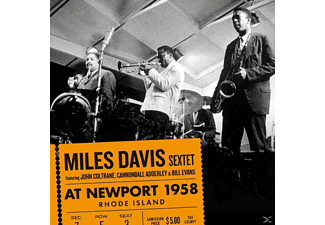 Miles Sextet Davis - At Newport 1958 - (CD)