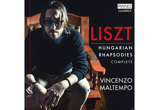Vincenzo Maltempo - Hungarian Rhapsodies 1-19 - (CD)