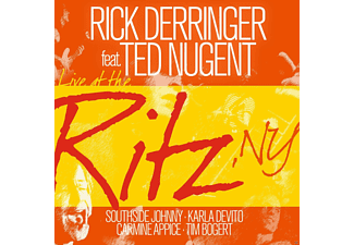 Rick Derringer, Ted Nugent - LIVE AT THE RITZ, NY - (CD)