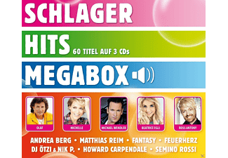 VARIOUS - Schlager Hits Megabox - (CD)