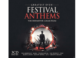 VARIOUS - Festival Anthems-Greatest Ever [CD]