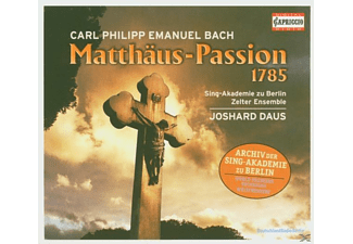 Daus - Matthäus-Passion (1785) - (CD)