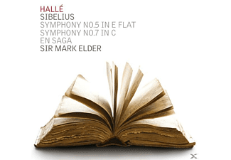 Mark Elder, The Halle Orchestra - Sinfonien 5+7/En Saga - (CD)